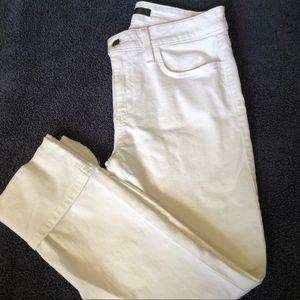 Great JOE'S White Cuffed Jeans Size 29